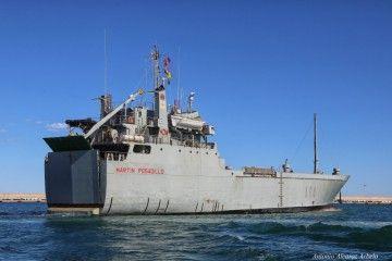 """""""Martín Posadillo"""", el segundo de los buques del Ejército de Tierra operado por la Armada"""