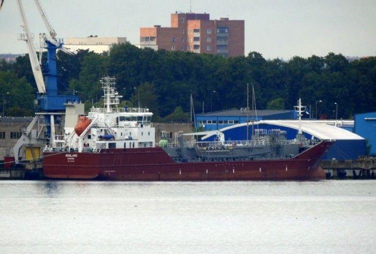 """El buque quimiquero """"Gogland"""""""