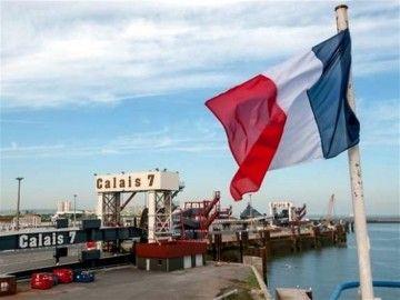 Uno de los muelles de embarque en el puerto de Calais