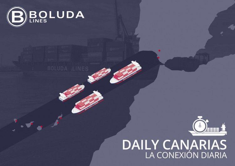 Boluda estrena un nuevo modelo de transporte en la línea Cádiz-Canarias