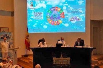 Presidencia de la ponencia dedicada a la estrategia en el transporte marítimo