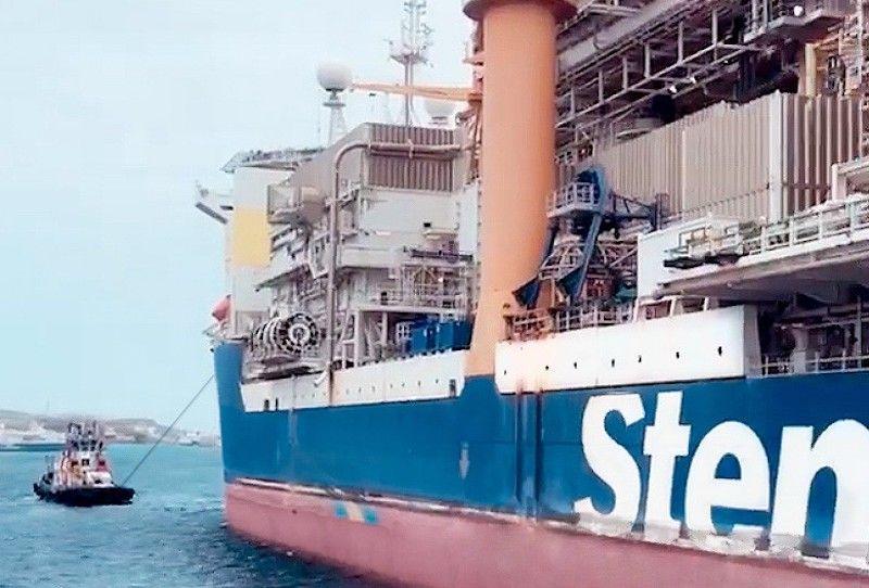 """Asistencia al buque perforador """"Stena Forth"""""""