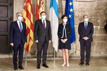 La audiencia se celebró en la sede de la Generalitat Valenciana