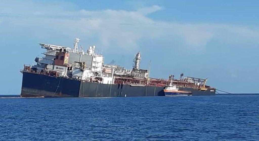 """Estado en el que se encuentra el buque FSO """"Nabarima"""""""