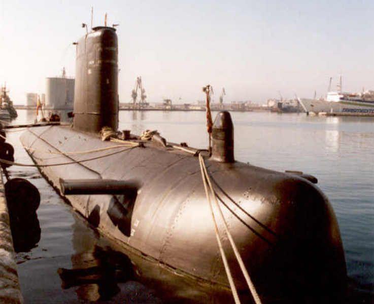 """Submarino """"Siroco"""" (S 72)"""