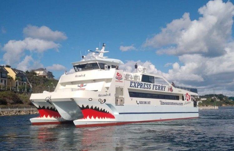 """Este es el nuevo catamarán """"Alexandro R"""", de Líneas Romero"""