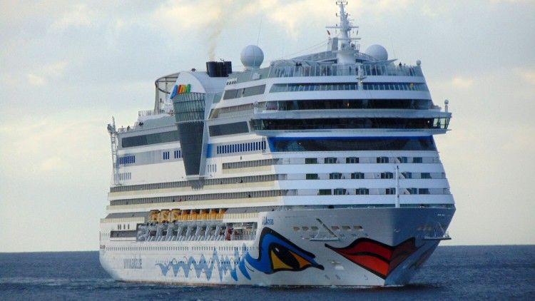 """El buque """"AIDAmar"""" será el primero que estrene la atípica temporada en La Palma"""