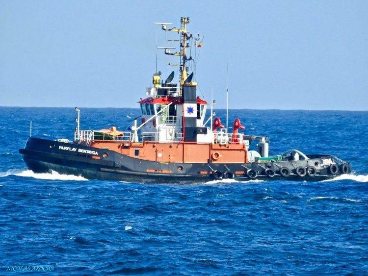 """""""Fairplay Bentayga"""", uno de los cuatro remolcadores de Odiel Towage en Las Palmas"""