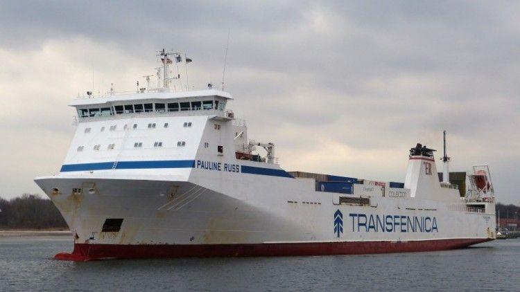 """El buque rolón """"Pauline Russ"""", fletado por Suardíaz"""