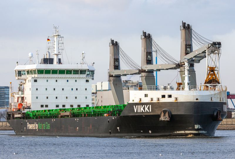 """""""Viiki"""", uno de los nuevos graneleros de ESL Shipping"""