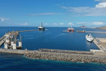 Panorámica del puerto de Granadilla