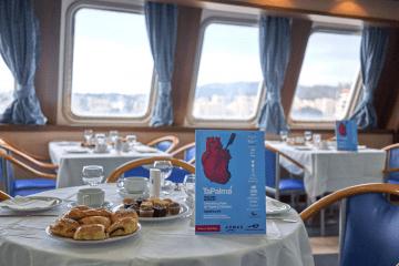 """La presentación oficial de TaPalma 2020 se ha celebrado a bordo del ferry """"Ciudad de Palma"""""""