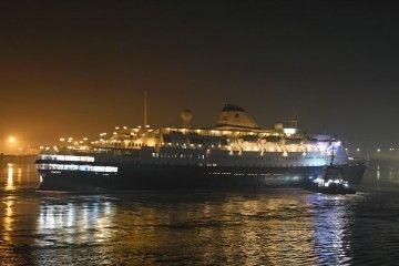 """El buque """"Astoria"""" ha sido removido de atraque en el puerto de Tilbury"""