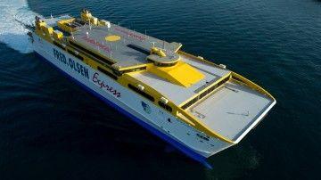 """El catamarán """"Betancuria Express"""" volverá el 30 de noviembre a su linea habitual"""