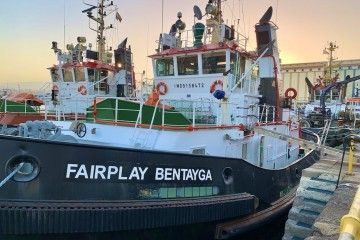 """Fairplay Bentayga"", uno de los remolcadores de Fairplay en Las Palmas"