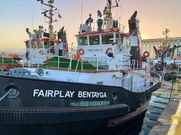"""""""Fairplay Bentayga"""", uno de los remolcadores de Fairplay en Las Palmas"""