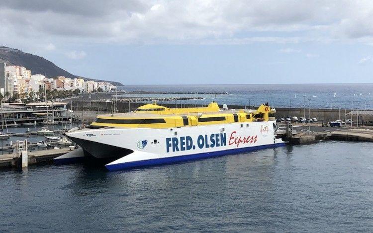 """El catamarán """"Bencomo Express"""" estará ausente de La Palma hasta el 24 de noviembre"""