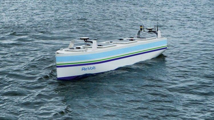Modelo a escala de buque autónomo clasificado por DNV-GL