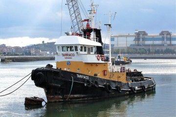 """Estampa marinera del remolcador """"Tarraco"""""""