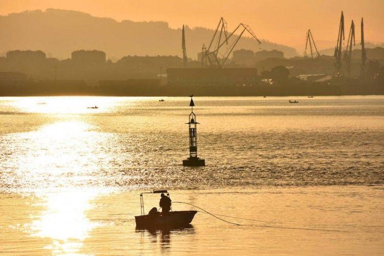 Esta es la fotografía ganadora del V concurso COPE Ferrol