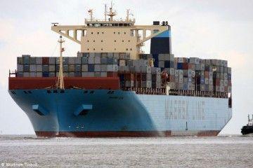 """En 2010 el buque """"Maersk Elba"""" fue el mayor del mundo"""