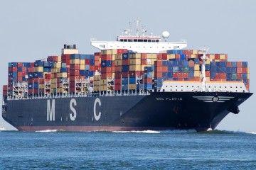 """Este es el buque """"MSC Flavia"""", coprotagpnista de un nuevo hito en el puerto de Las Palmas"""