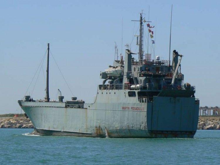 """El buque """"Martín Posadillo"""", de procedencia mercante"""