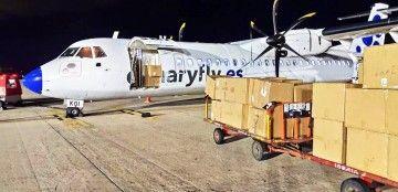Un avión ATR-72 operará como carguero