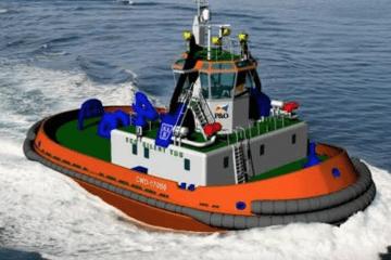 """""""Azabra"""", segundo remolcador SCR del puerto de Barcelona"""