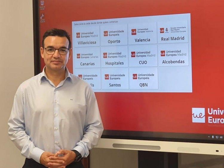 José Rafael Díaz Hernández, en su intervención en la UEC