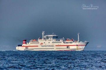 """El viaje de mañana estará a cargo del ferry """"Ciudad de Málaga"""""""