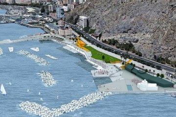Proyecto de actuación en el litoral de Valleseco