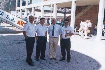 Servando Peraza, José García Oliva, Tomás Cerdeña y Marcial Figueroa