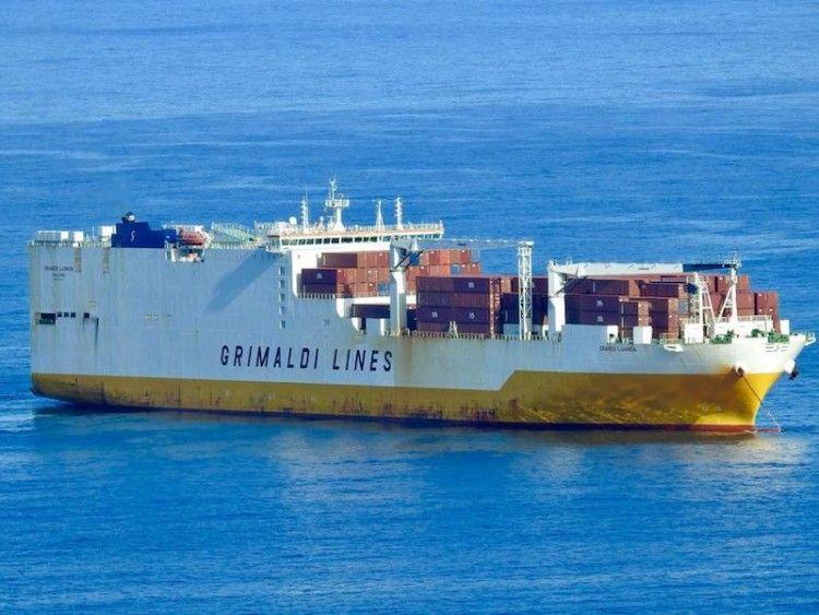 Grimaldi mantiene un tráfico regular entre Europa y Sudamérica vía Tenerife
