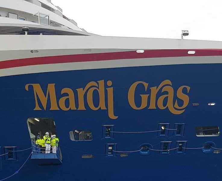 """Es el segundo buque de Carnival con el nombre de """"Mardi Gras"""""""