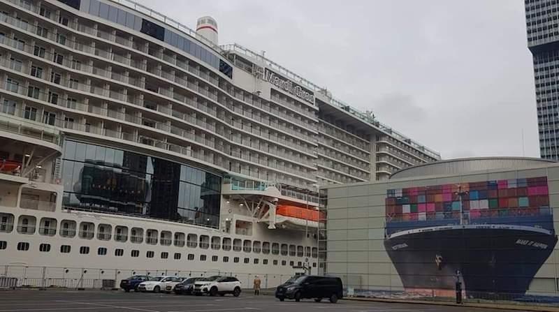La escala en Rotterdam es noticia preferente