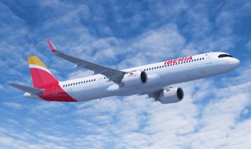 La operativa del avión de Iberia se ha realizado con toda normalidad