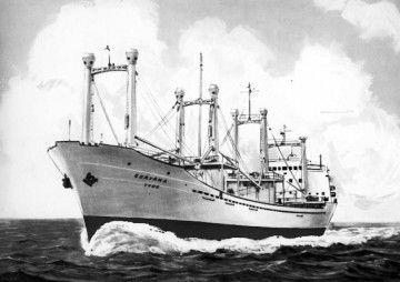 """El buque """"Guayana"""", en una imagen de la CAVN"""