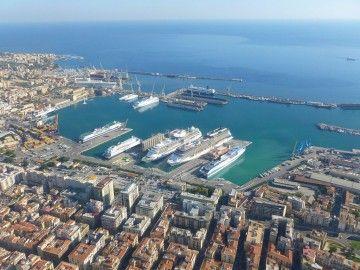 Panorámica del puerto de Palermo
