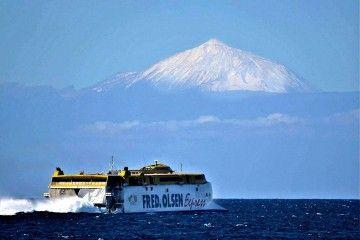 Fred. Olsen ha restablecido hoy la línea Agaete-Santa Cruz de Tenerife