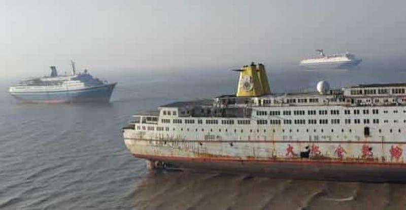 """Los buques """"Ropolis"""", """"Marco Polo"""" y """"Magellan"""""""