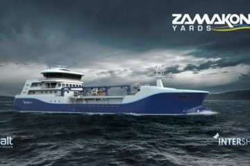 Este será el aspecto exterior del buque vivero para Noruega