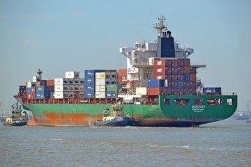 """Este es el buque portacontenedores """"Mozart"""", atacado en el golfo de Guinea"""