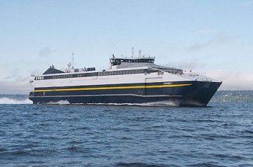 """El catamarán """"Chenega"""", uno de los barcos que interesa a Trasmapi"""