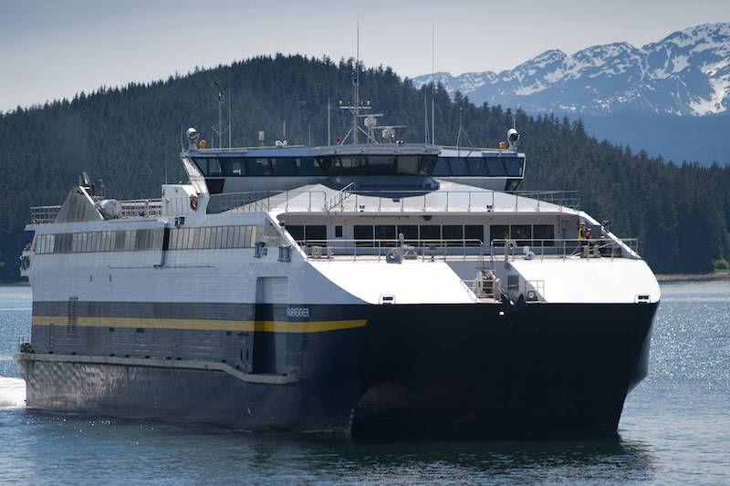 """Este es el catamarán """"Fairweather"""", gemelo del """"Chenega"""""""