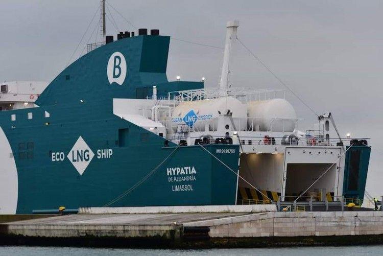 Balearia apuesta por el gas natural licuado