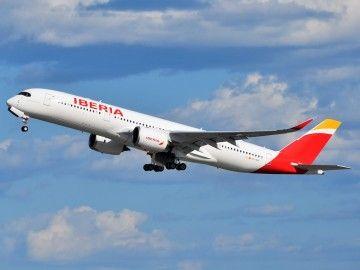 Iberia programó el primer vuelo del A350 a República Dominicana