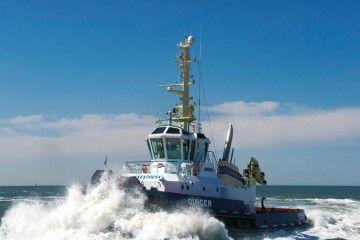 """El remolcador """"Ginger"""", de la flota de Iskes Towage"""