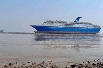 """Los buques """"Magellan"""" y """"Marco Polo"""", varados para desguace"""