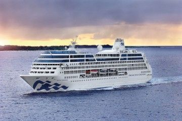 "El buque ""Pacific Princess"" pasa a formar parte de Azamara Club Cruises"